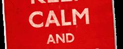 O que significa Keep Calm