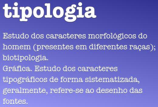 Significado de Tipologia